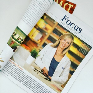 Dr Hyde in Ranch and Coast magazine