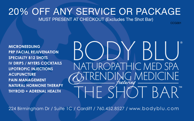 Body Blu get 20% off